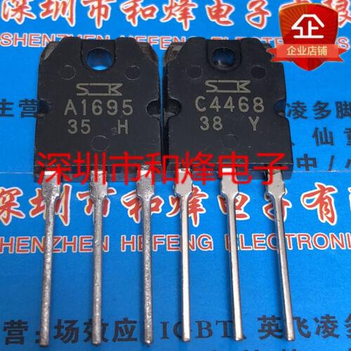 10PCS A1695 C4468 2SA1695 2SC4468 TO-3P 10PCS