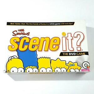 The-Simpsons-Scene-It-The-DVD-Game-Mattel-2009-Board-Game-New-Open-Box