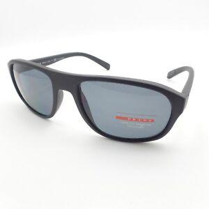 Prada Linea Rossa Sport 01R DG0-5Z1 Matte Black Polarized Authentic ... d2337df611