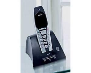 Binatone G11 Sans Fil Lcd Digital Téléphone + Repondeur-argent/noir * Vente *-afficher Le Titre D'origine