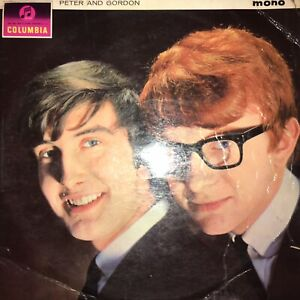 POST FREE - PETER AND GORDON  Disc VG+, Sleeve GD. VINYL MONO 2nd Class Post