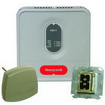 Honeywell HZ311K TrueZONE Zoning Control Kit w// DATS Transformer /& Panel 1H//1C