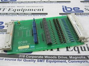 Arcom-SCB9-Opto-Isolator-Board-107686-For-DEK-Screen-Printer-w-Warranty
