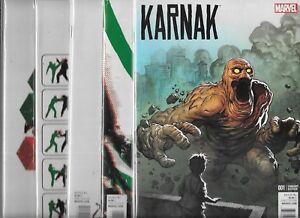 Design Variant Karnak #1 2015 Marvel NM//NM