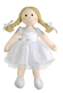 Bridal Doll with Fair Hair Blonde Rag Doll Imajo Fair Trade Hand Made JRD63 - <span itemprop=availableAtOrFrom>Brikenhead, Merseyside, United Kingdom</span> - Returns accepted Most purchases from business sellers are protected by the Consumer Contract Regulations 2013 which give you the right to cancel the purchase within 14 days - Brikenhead, Merseyside, United Kingdom