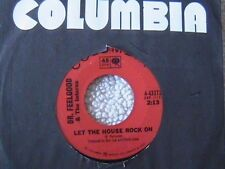 "DR. FEELGOOD & THE INTERNS ""LET THE HOUSE ROCK ON"" / ""DOCTOR OF LOVE"" 7"" 45 1965"