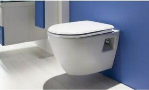 Creavit Wall Hung Mounted Combined Bidet Toilet Pan Wc Soft Seat Made In Turkey Ebay