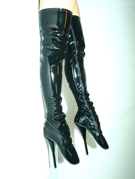 High heels balletStiefel lack 37 38 39 40 41 42 43 44 45 46 47 Bolingier FS1020