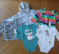 Girls 18 Month Winter Top And Hoodie Lot $80 Retail Bodysuit Gap Clothes