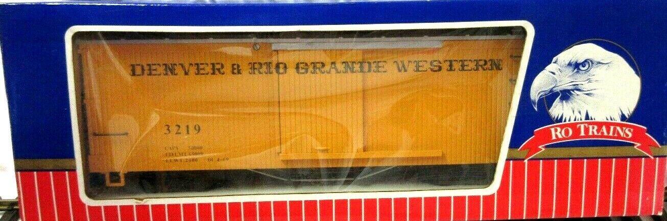 RO RO RO USA D & RGW BOX CAR ad5d44