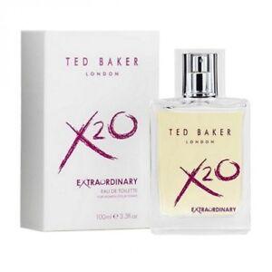 ce480ac83b99 TED BAKER X2O EXTRAORDINARY 100ML EAU DE TOILETTE SPRAY BRAND NEW ...
