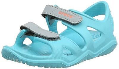 Crocs 204988 SWIFTWATER RIVER SANDAL Kids Girls Sandals Paradise Pink//Amethyst