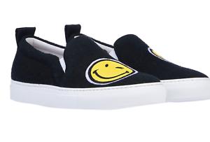 Joshua Sanders Slip-On Sneakers BLCK 42