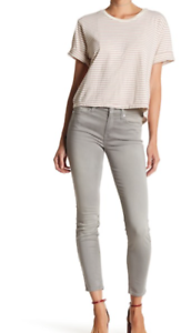 NWT  7 For All Mankind Ankle Skinny Jeans FTHRWTGRY  31  189 dubay