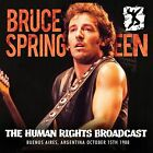 The Human Rights Broadcast 0823564667829 by Bruce Springsteen CD
