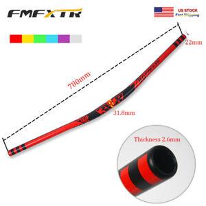 31-8-780mm-Etats-Unis-en-Aluminium-Guidon-Downhill-VTT-velo-de-montagne-10-18-mm-Riser-Superlight