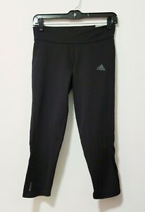 Details about NEW B47765 Women Adidas Running Response 34 Small S Three Quarters Tights Black