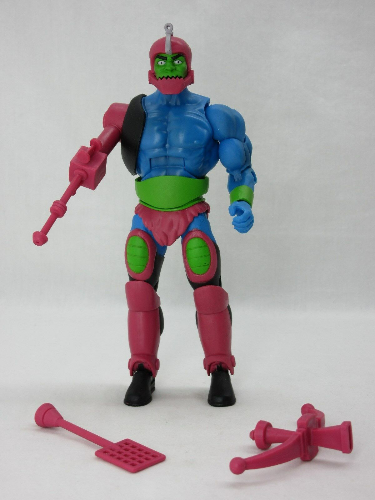 MOTUC,MOTU,FILMATION TRAP JAW 2.0,Masters Of The Universe Classics,100% Complete