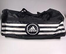 Adidas 3 Stripes Golf Medium Duffle Bag Gym Shoulder Strap Black White f0ddd165a569e