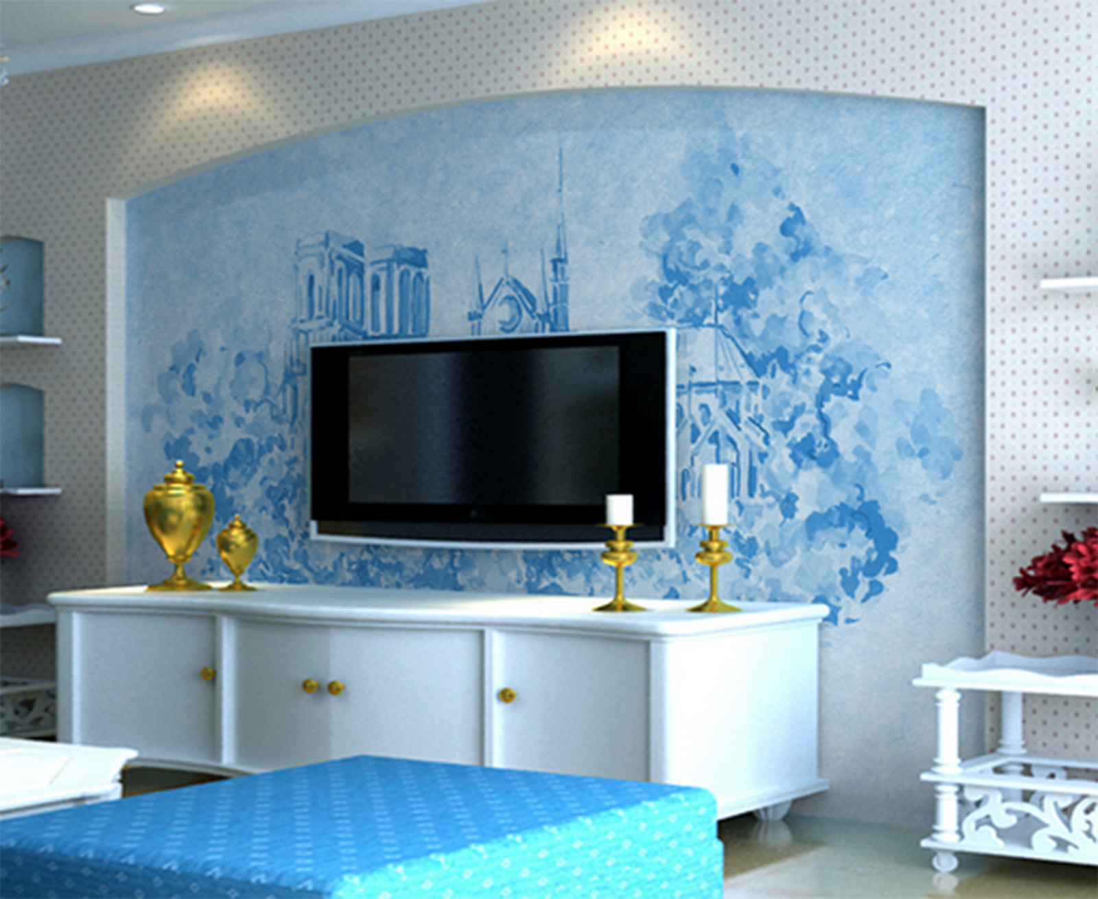 3D Paint Castle 4181 Wallpaper Murals Wall Print Wallpaper Mural AJ WALL UK Kyra