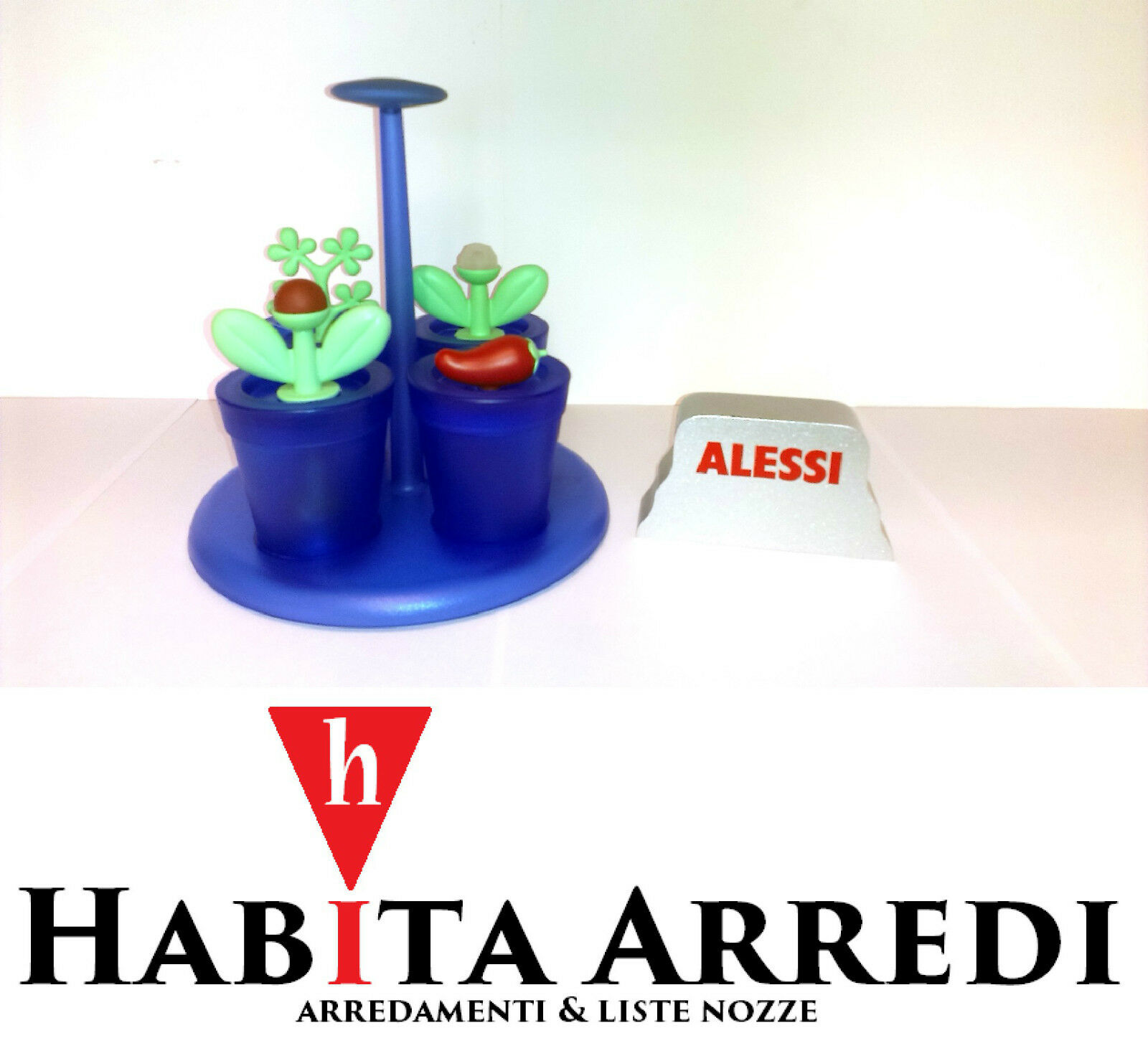 Alessi Happy Spices AZ Completo