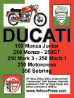 Ducati Factory Workshop Manual: 160cc, 250cc & 350cc NARROW CASE, SINGLE CYLINDER, OHC MODELS by Ducati Meccanica (Paperback, 2008)