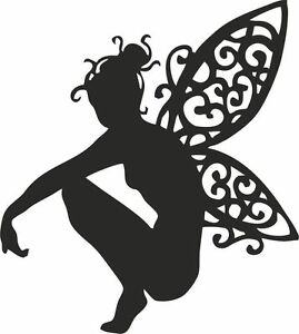 Die Cut Silhouette FAIRY on VINE x 10 Card making Fairy Jars Crafts 3 sizes