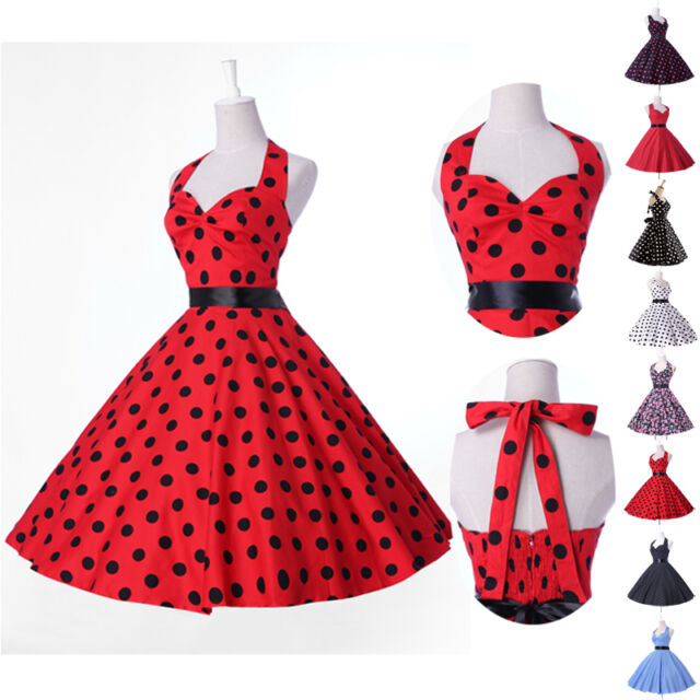 CHEAP Vintage Retro Swing 50's 60's pinup Housewife Prom Cocktail Party Dresses