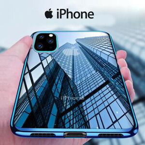 COVER-PER-IPHONE-11-XS-XR-X-8-7-6S-6-CUSTODIA-ELECTRO-SILICONE-VETRO-TEMPERATO
