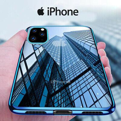 Cover Per Iphone 11 Xs Xr X 8 7 6s 6 Custodia Electro Silicone Vetro Temperato Ebay