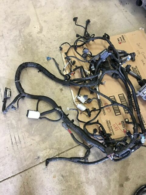 2011 Cadillac Cts Oem Engine Motor Wiring Harness Loom 3 2