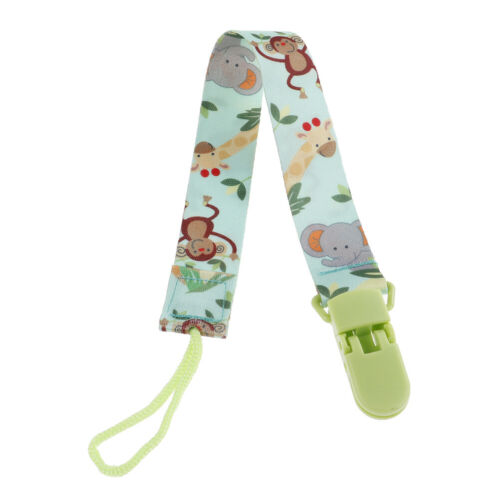 1Pc Newborn Baby Pacifier Clips Chain Strap Soother Dummy Nipple Holder a!
