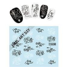 Nail art water sticker transfer-BUY 3 GET 1 IN FREE-fiori-ADESIVI PER UNGHIE!!!