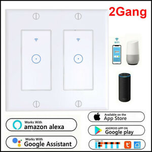 2Gang-Smart-WIFI-Light-Wall-Switch-Works-Alexa-Google-Home-IFTTT-Smart-Life-App