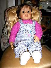 Zapf Creation Brigitte Leman Baby Künstlerpuppe  Größe ca. 64cm