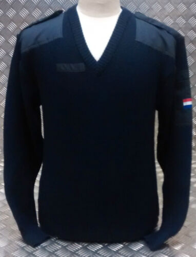 Neckneck Vintage Originale Navy Lana Caldo Olandese Maglione maglione Molto V 7wIqP1