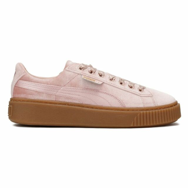 9cbdf33280f Puma Basket Platform VS Women s Trainers Pink - Size 6 for sale ...