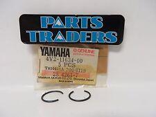 Yamaha Crankshaft Piston Circlip Set Of 2 YZ125 IT200 Banshee Enticer YZ250