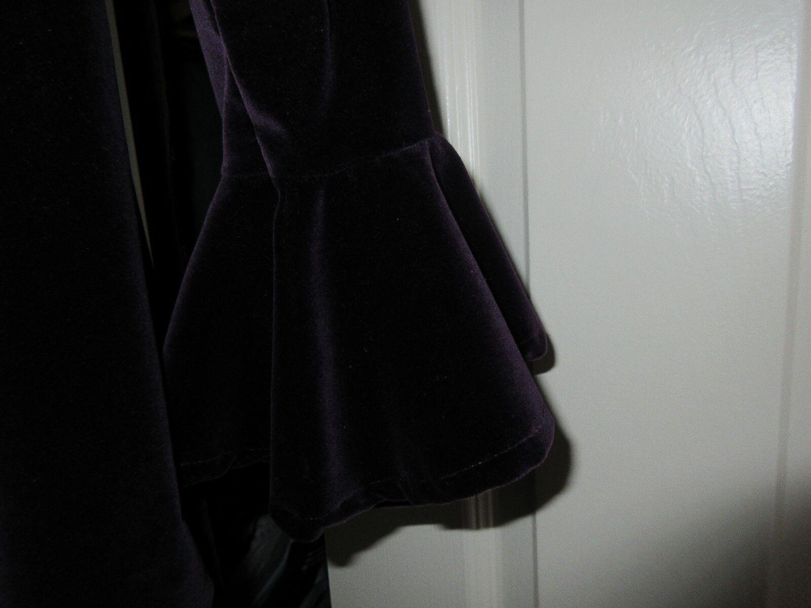 Ladies , Custom Designed , Unique , Purple Velour ,Jack