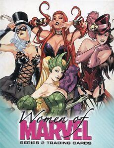 Marvel-Women-of-Marvel-Series-Two-Card-Album