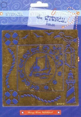 500000//0419 plantilla de náutica-la plantilla Casa-Marianne Design