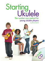Starting Ukulele Learn to Play Uke Beginner Easy Lesson Tutor Music Book & CD