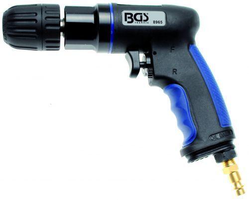 BGS Air Comprimé-perceuse avec 10 mm rapidement Mandrin Composite Boîtier 8965