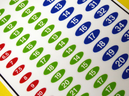 Douille Set Identification Outil Étiquette Autocollants Métrique Set De 85