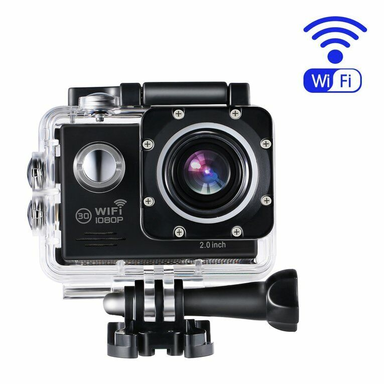 4K 1080P WiFi Ultra HD Action Sports Camera Waterproof DV DVR Camcorder Cam ZJ