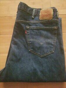 Jeans Levis De Hombre 560 Pierna Ahusada Comodidad Loose Fit Tamano 42 X 36 Ebay