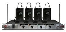 Nady 401X Quad LT/U Wireless Microphone System w/4 Lavaliere Mic