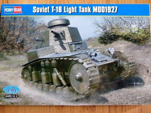 Hobbyboss 1:35 T-18 Mod.1927 Soviet Light Tank Model Kit