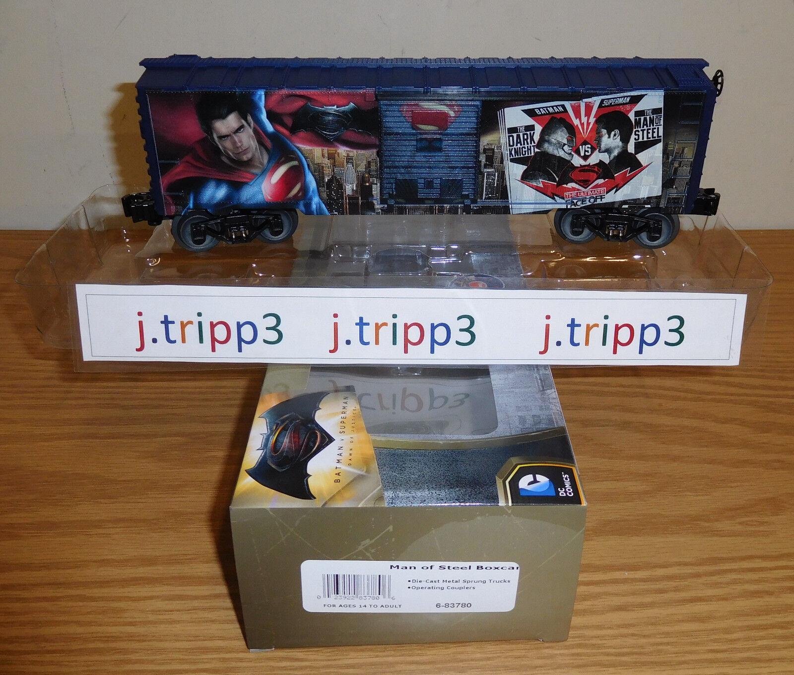 distribución global Lionel Lionel Lionel 6-83780 el hombre de acero vagón tren o calibre súperman Batman Dc Comics Usa  Felices compras