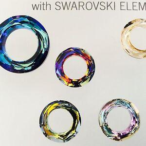 af427ab0cb8c5 Details about Swarovski® Crystal Cosmic Rings #4139 - Sz: 14mm Choose Color  1 PC. PK.